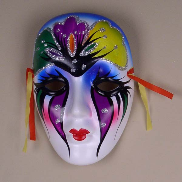 Wall Decoration With Masks : Colorful porcelain wall decor beauty mask lg