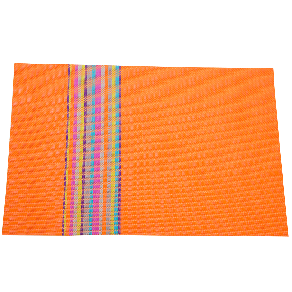 Heat insulation stain resistant woven vinyl placemats 18 for Table placemats