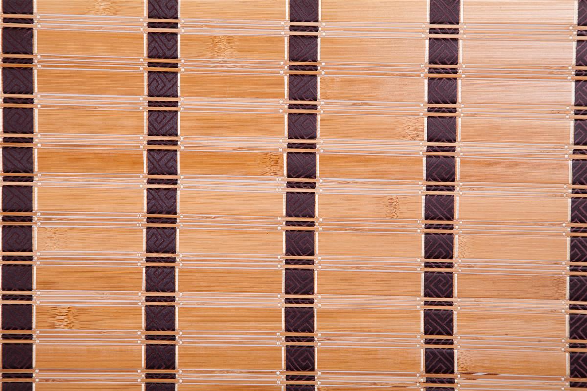 Natural Bamboo Roll Up Window Blind Roman Shade Sun Shade