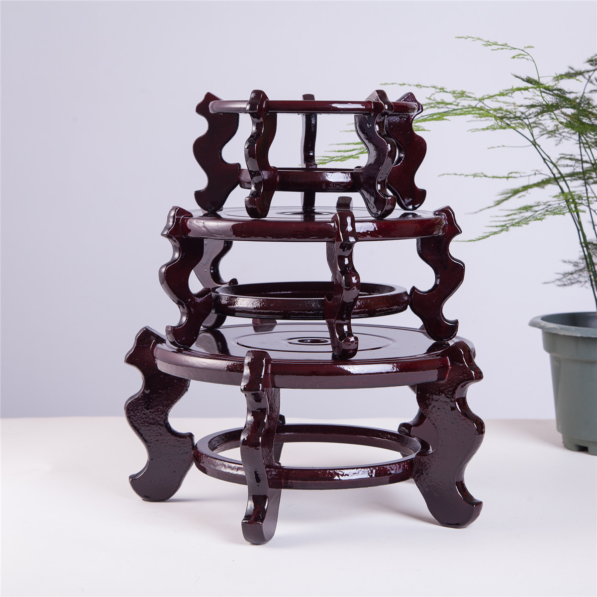 Beautiful hand craft rosewood oriental vase stand 75 reviewsmspy