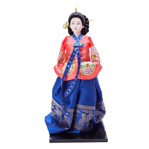 "13.4"" korean Beauty Oriental Doll DOL7509-D6"
