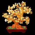 Stunning Artificial Chinese Coin Money Tree L