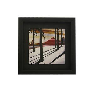 Small Wooden Framed Oil Painting Art READY TO HANG DL536