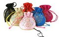 Assortment Of 6 Oriental Silk Girl's Purse