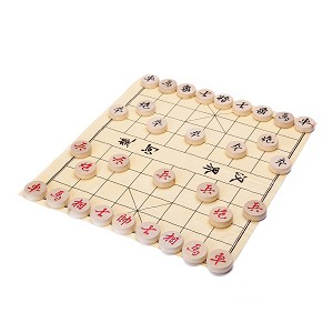 Traditional Xiang Qi Wooden Chinese Chess Checker Game 2""