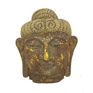 Antique Reproduction Wall Decor Buddha Mask