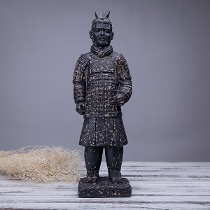 Antique Reproduction Qin Dynasty Terra cotta Warrior Collectible Statuette Large 16""