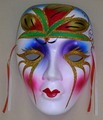 Colorful Porcelain Wall Decor Beauty Mask LG