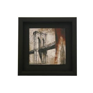 Small Wooden Framed Oil Painting Art READY TO HANG ML605