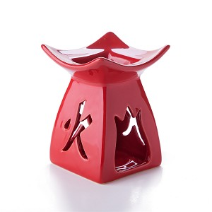 Feng Shui Zen Ceramic Essential Oil Burner Tea Light Holder Great For Home Decoration & Aromatherapy OLBA107