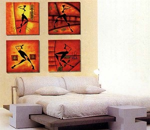 Modern Abstract Art Oil Painting STRETCHED READY TO HANG OPA23