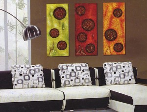 Modern Abstract Art Oil Painting STRETCHED READY TO HANG OPA627