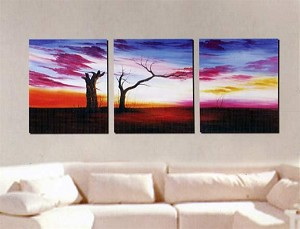 Modern Abstract Art Oil Painting STRETCHED READY TO HANG OPB362