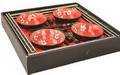 Contemporary Dinnerware Chinese 16 PCS Dinner Set For 4 In Gift Box