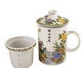 Exquisite Porcelain Tea / Coffee Cup W. Filter LG