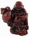 Hong Tze Collection-Red Buddha Grabbing Money Bag