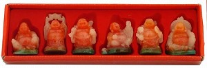 Hong Tze Collection-Set Of Six Color Buddha