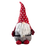 Handmade Swedish Gnome Santa Plush Doll, Lucky Gnome, Scandinavian Tomte Santa, Nordic Nisse Sockerbit Elf Dwarf Decoration, Holiday Present, Home Ornaments, Christmas Decoration (19 inch)
