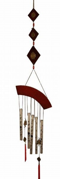 Aluminum Bronze Feng Shui Wind Chime
