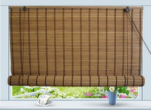 Bamboo Roll Up Window Blind Sun Shade W48 Quot X H84 Quot