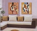 Modern Abstract Art Oil Painting STRETCHED READY TO HANG OPA112