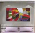Modern Abstract Art Oil Painting STRETCHED READY TO HANG OPB285