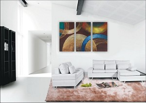 Modern Abstract Art Oil Painting STRETCHED READY TO HANG OPZ-3-20