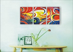 Modern Abstract Art Oil Painting STRETCHED READY TO HANG OPZ-3-26