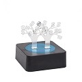 THY COLLECTIBLES Magnetic Sculpture Desk Toy For Intelligence Development Stress Relief Strong Magnet Base Solid Metal Pieces (Money Tree)
