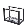 THY COLLECTIBLES Newtons Cradle Balance Balls With Mirror Desk Top Decoration Kinetic Motion Toy For Home And Office