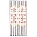 Beautiful Home Decor Bamboo Beaded Curtain Door Screen Divider - Bamboo Double Happiness