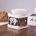 Feng Shui Zen Ceramic Essential Oil Burner Tea Light Holder Great For Home Decoration & Aromatherapy OLBA097