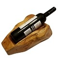 Beautiful Carved Natural wood Wine Bottle Holder