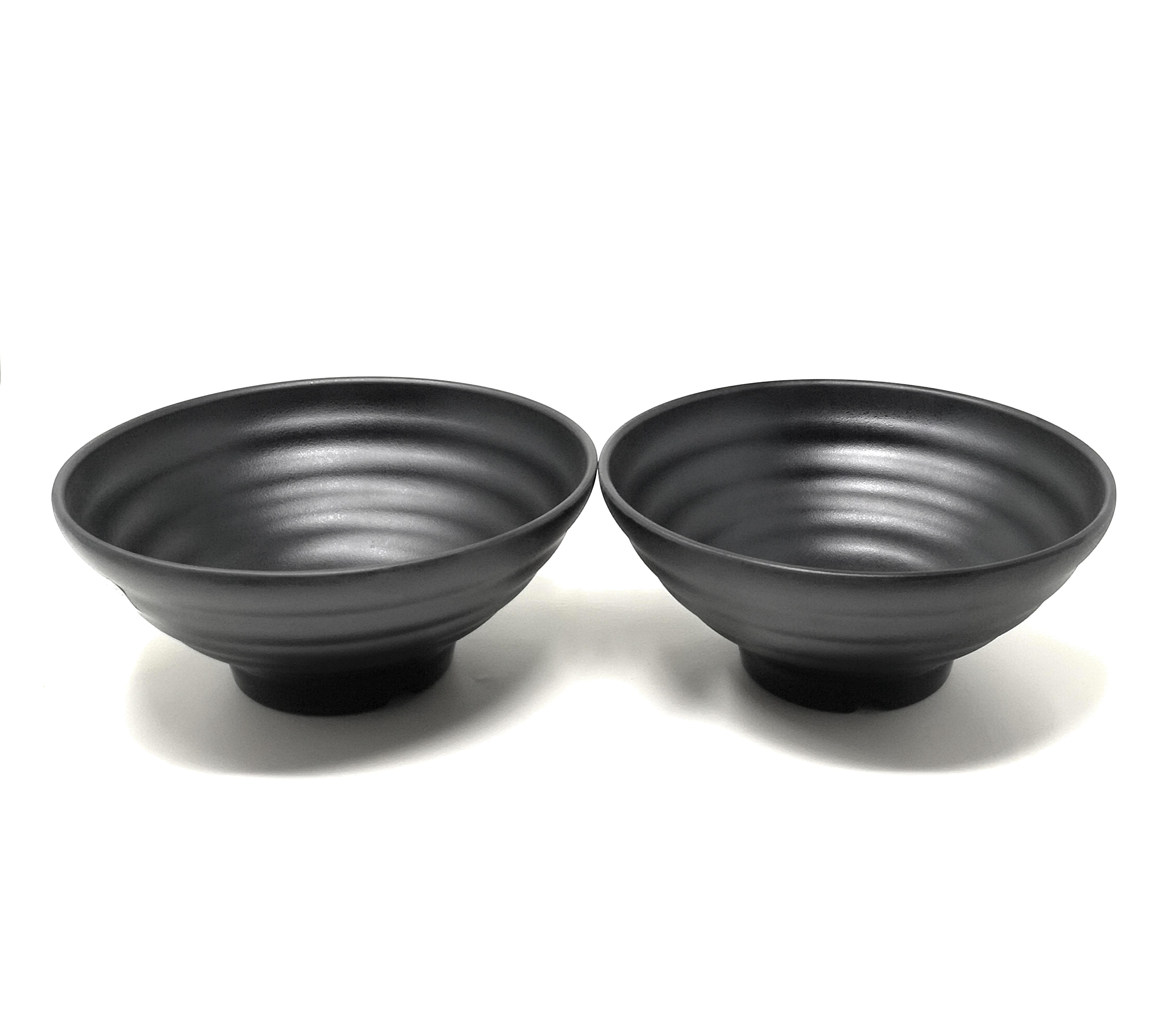 60 Ounce Large Melamine Japanese Ramen Noodle Soup Bowl Hard Plastic Dishware For Udon Soba Pho Asian Noodles 8 66 X 4 33 2 Bowls