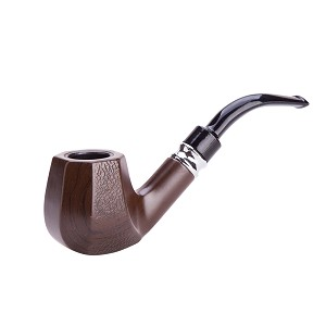 Durable Elegant Octagon Wooden Smoking Tobacco Pipe TP5515