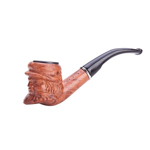 Durable Unique Old Man Head Smoking Tobacco Pipe TP604