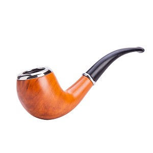 Durable Elegant Wooden Smoking Tobacco Pipe TP607