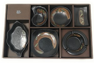 Contemporary Dinnerware Chinese 6 PCS Dinner Set