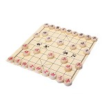 Traditional Xiang Qi Wooden Chinese Chess Checker Game 1.35