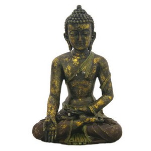 "Antique Reproduction 13"" High Buddha"
