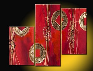 Modern Abstract Art Oil Painting STRETCHED READY TO HANG NY-3236