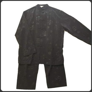 Traditional Chinese Silk Kung-Fu Suit