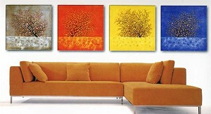 Modern Abstract Art Oil Painting STRETCHED READY TO HANG OPA221