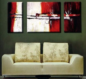 Modern Abstract Art Oil Painting STRETCHED READY TO HANG OPC235