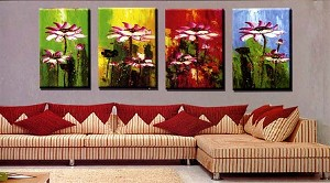 Modern Abstract Art Oil Painting STRETCHED READY TO HANG OPC420
