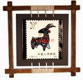 Chinese Zodiac Stamp Design Wall Plaque - Sheep
