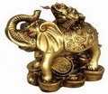 Fabulous Hong Tze Collection--Lucky Frog Standing On A Elephant