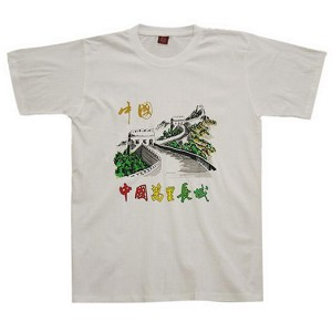Chinese Culture T-shirt Great Wall (white)
