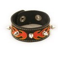 Stylish Leather Wrist Band Bracelet YX060