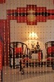 Beautiful Acrylic Beaded Curtain - Golden Balls